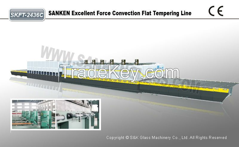 Force Convention Glass Tempering Line