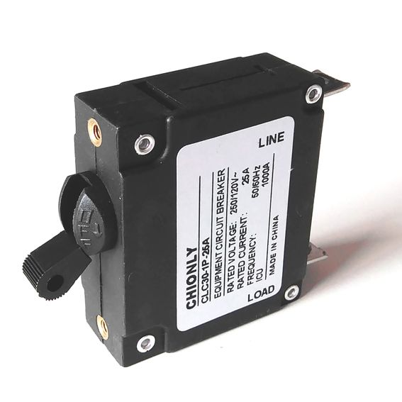 1 pole equipment overload protector hydraulic magnetic mini circuit breaker