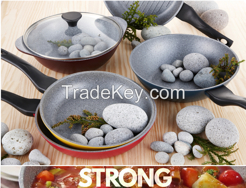 non-stick curling stone coating frying pans