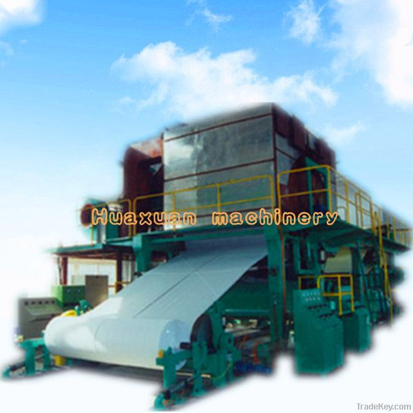 2--10T per day of tissue paper making machine