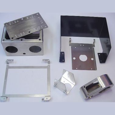 Metal bracket with/without Painting