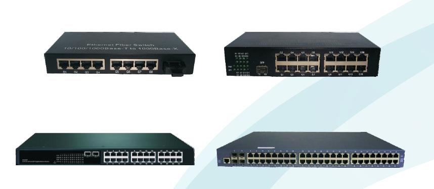 SCM-GN GIGABIT SERIES OF ETHERNET OPTICAL SWITCHES