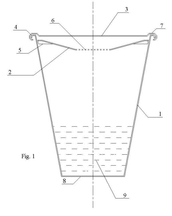 portable beach ash-tray