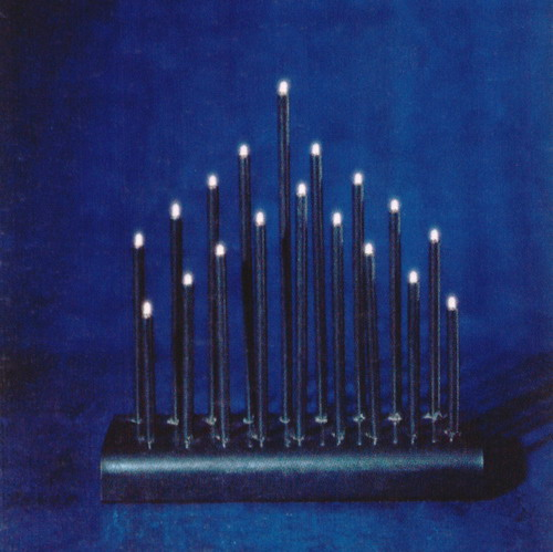 Flickering Candle Arch,christmas lights