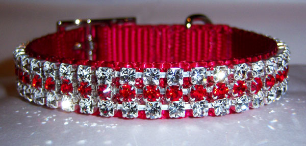Crystal Pet Collars, Leads, Harnesses, Charms