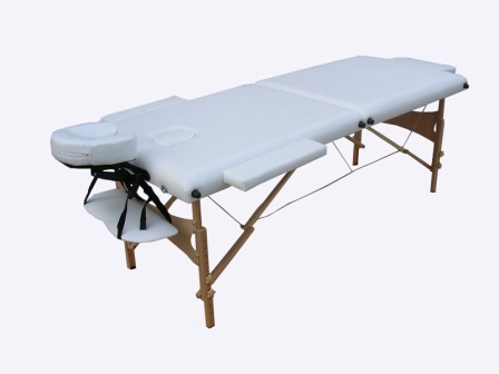 WT201 2 section portable massage table