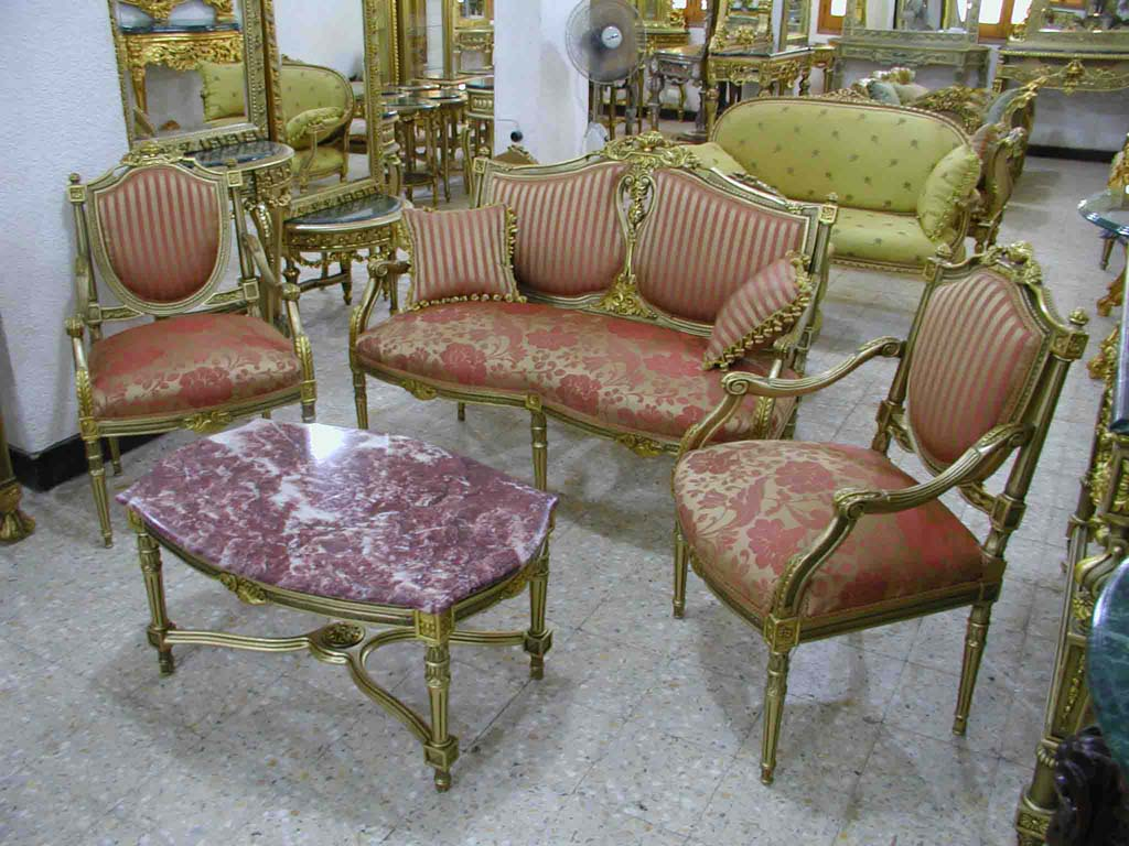 French Salon (Cup Sofa)