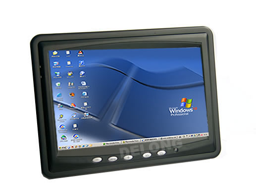 Car tft-lcd monitor with touch panel and vga