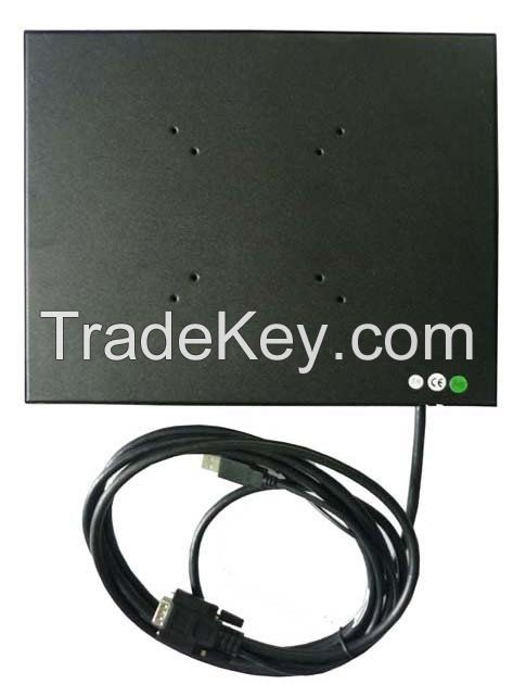 12.1 Inch HL-121B SKD Metal Cover VGA Touch Screen Monitor For IPC Industrial PC