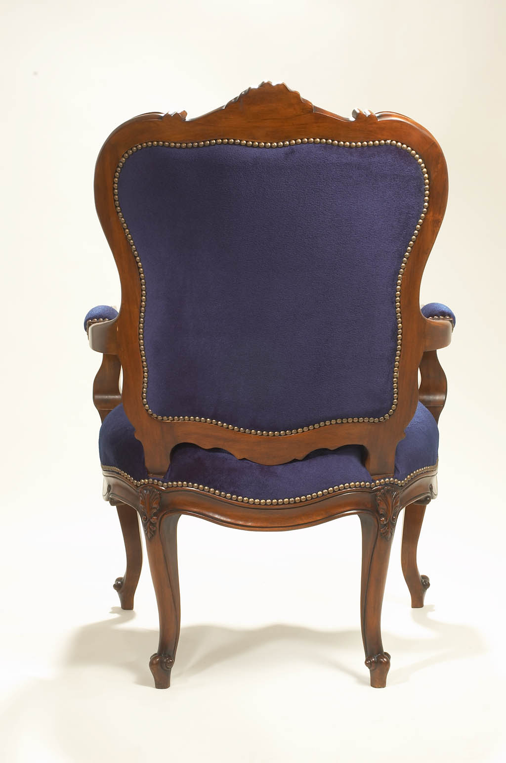 Louis XV Carved Armchair