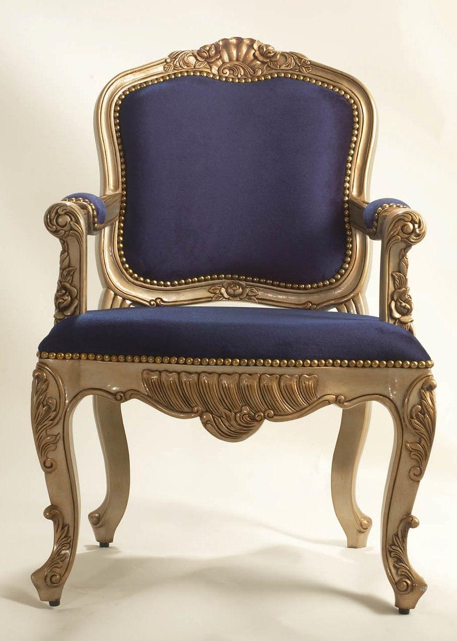 Louis XV Majesté Fauteuil