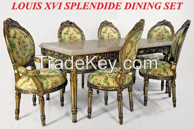 Royal French Dining Set