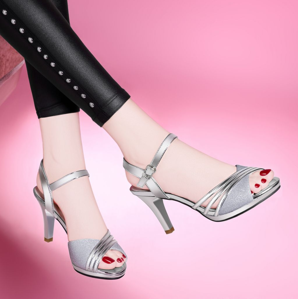 Clear Sexy Wholesale Companies Women Heels Shoes