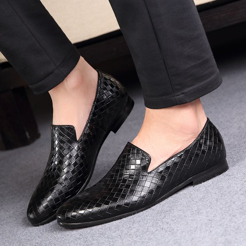 Paizhe-7512 Leather casual business men shoes