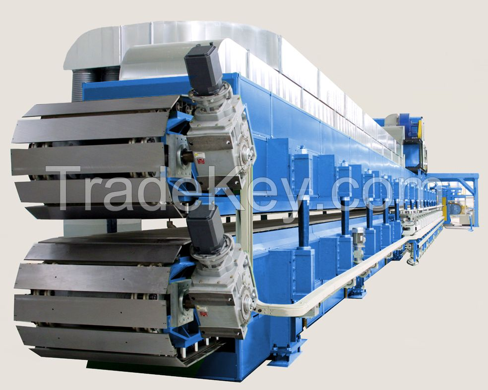 Continuous PU/EPS/ROCKWOOL Sandwich panel production line