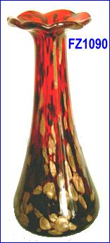 glazing vase