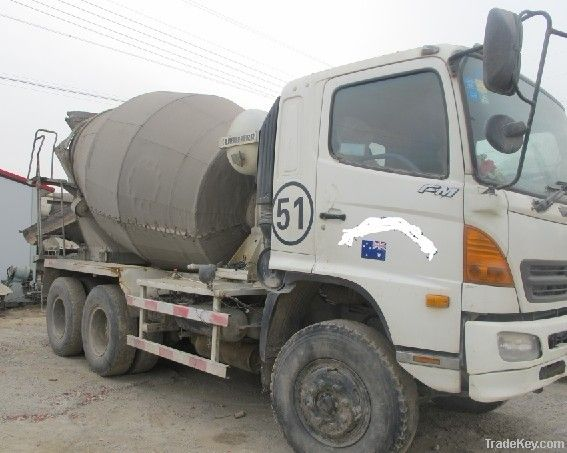 Used hino mixer truck/Concrete Mixer