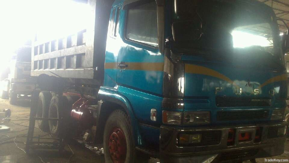 japan made used mistubishi dump truck for sale