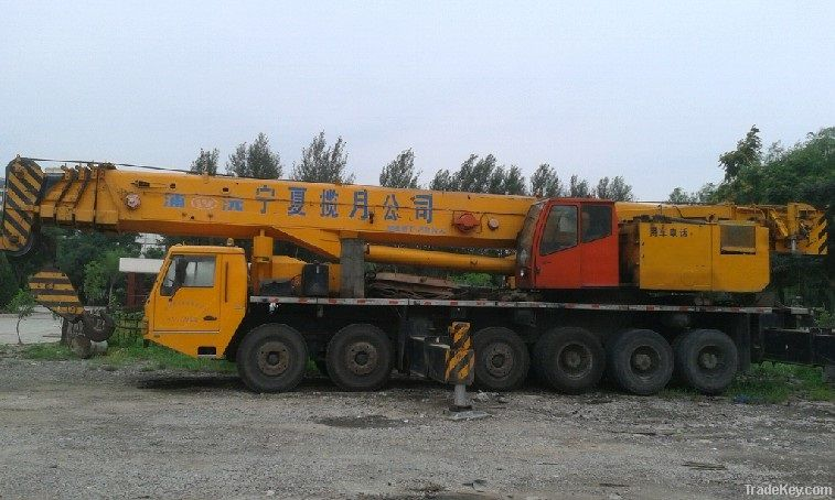 used puyuan, XCMG, zoomliang, demag100tons, 130tons 200tons mobile crane