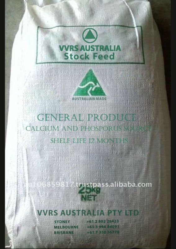 Animal feed for General Produce - Calcium and Phosphorus Sources