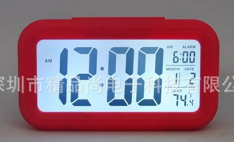 Digital Desk Alarm Clock