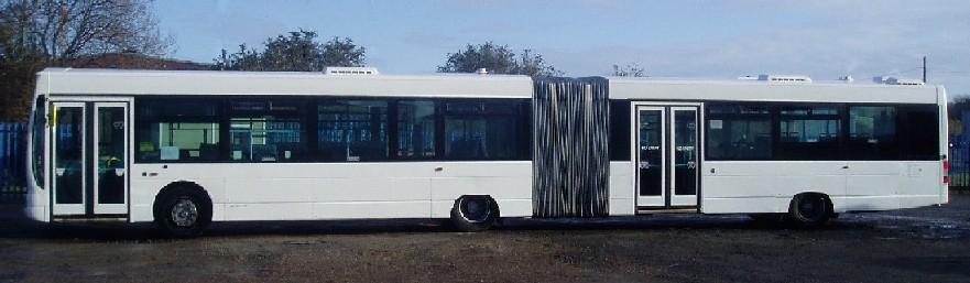 Volvo B7LA Wright Eclipse Fusion Articulated/Bendy City Bus