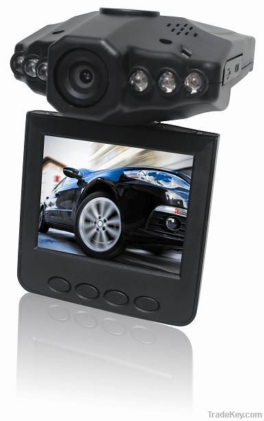 Car DVR Camera With 6LEDS for Nightvision recording