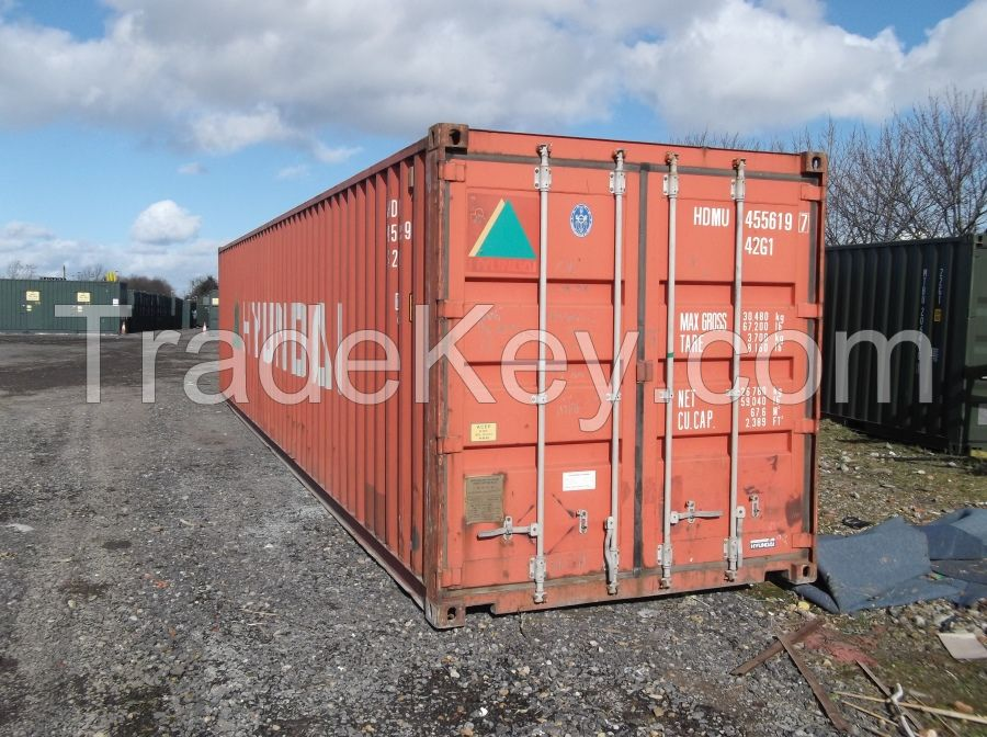 Used 40 ft  and 20ft Shipping Container for sale