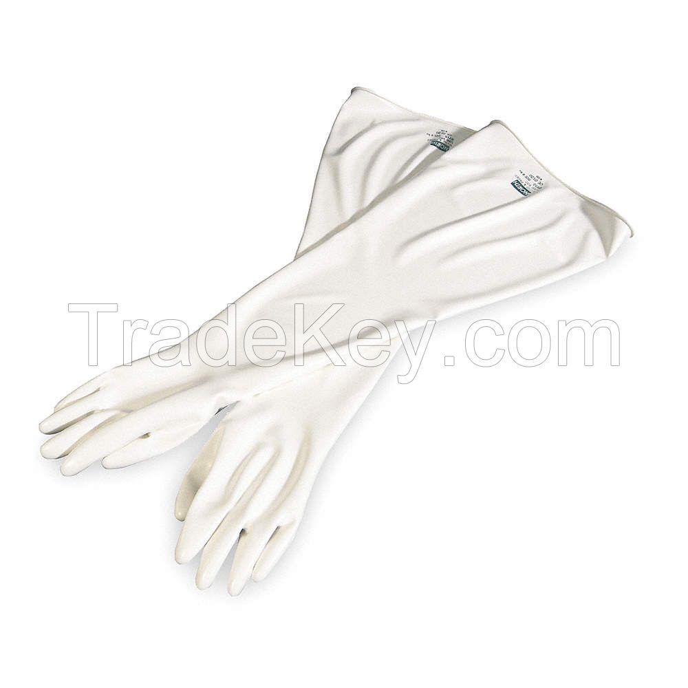 White Plain Rubber hypalonnnnn  glovess