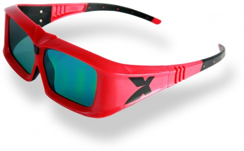 shutter 3d glasses