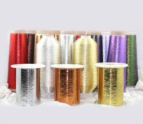 Metallic Yarn, Lshmx Types, for Sewing, Embroidery