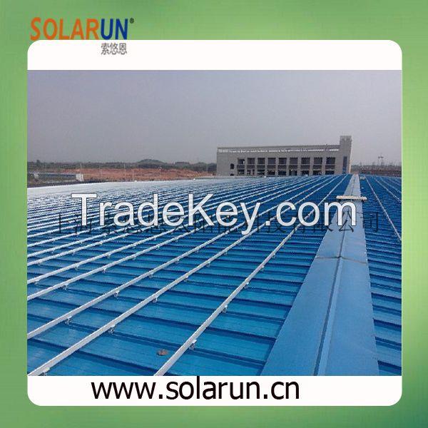 pitch roof solar mounting brackets (Solarun Solar)