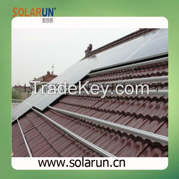 pitch roof solar bracket (Solarun Solar)