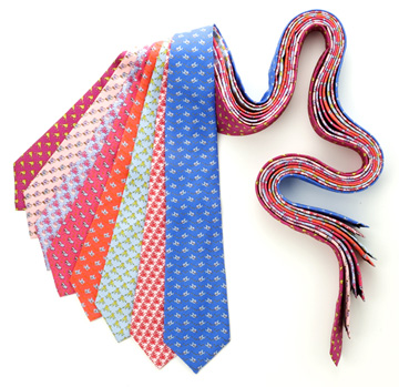 Mens Silk and Polyester Ties