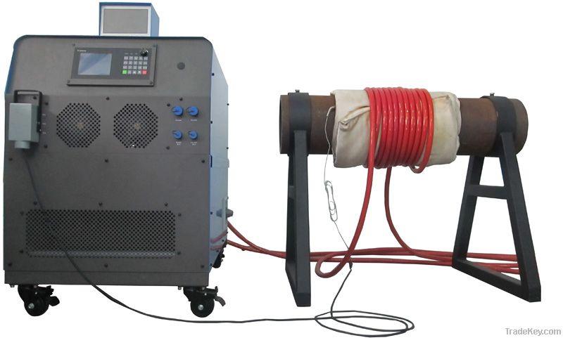 Induction preweld heating , postweld heating treatment equipment