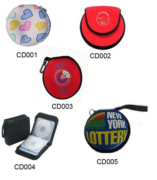 Neoprene CD Bags