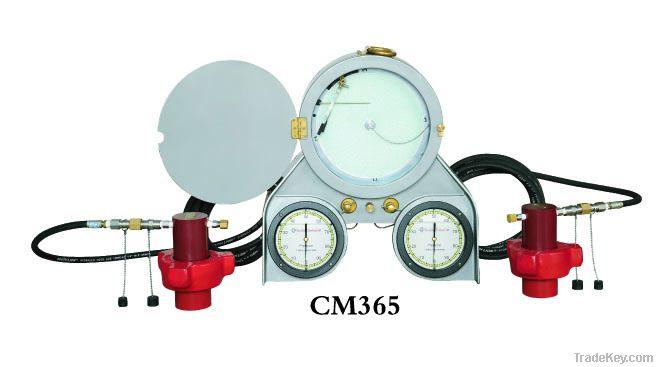 Portable pressure recorder