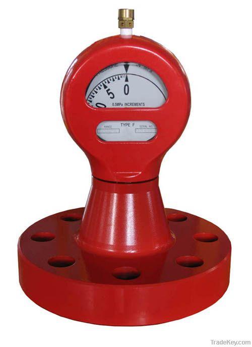Flanged Type F Pressure Gauges