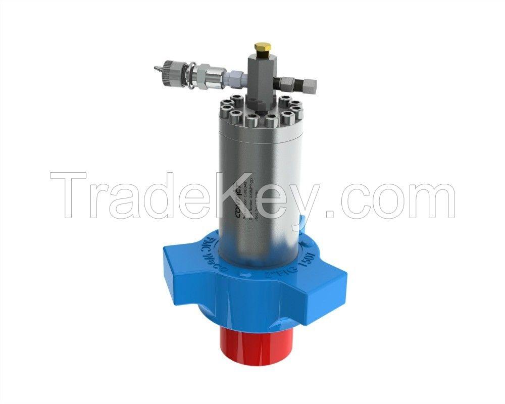 DB1004A High Pressure Debooster. 1:1 piston insolaotr