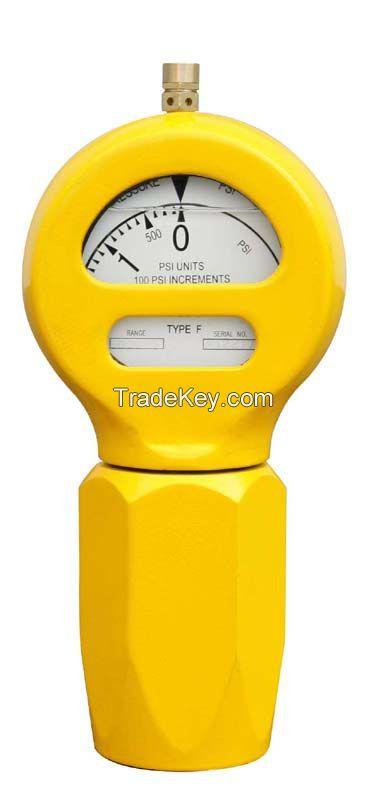 2 inch NPT thread pressure Gauges