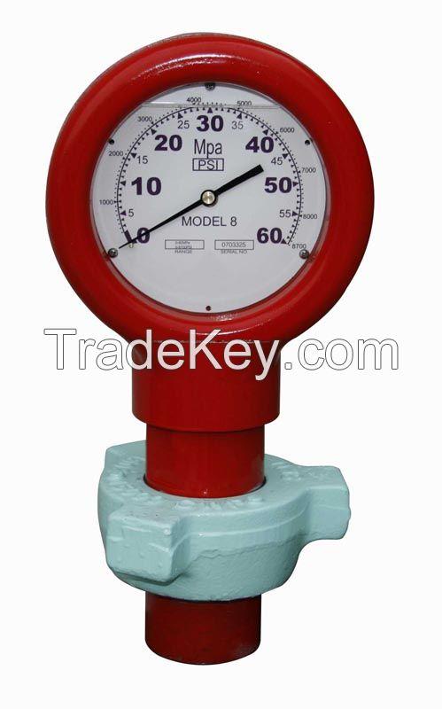 Model 8 Union Pressure Gauges