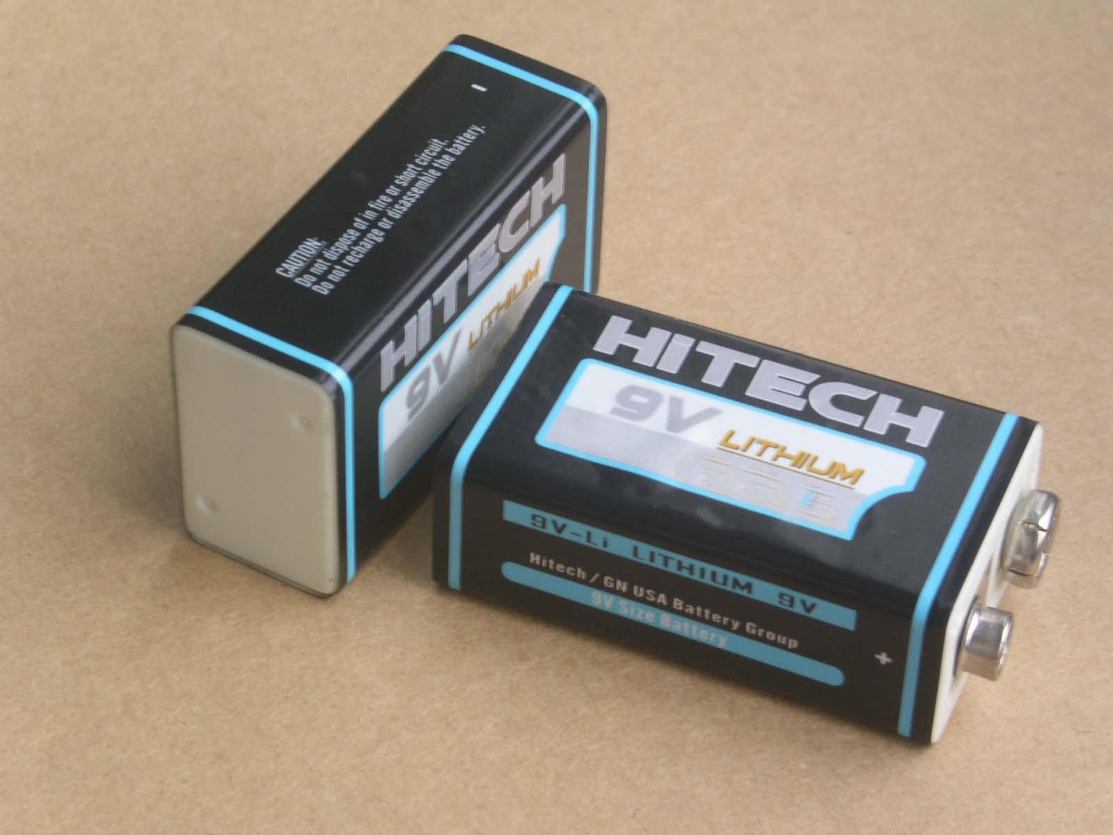 9V lithium batteries 12000mAh lithium battery for smoke alarm