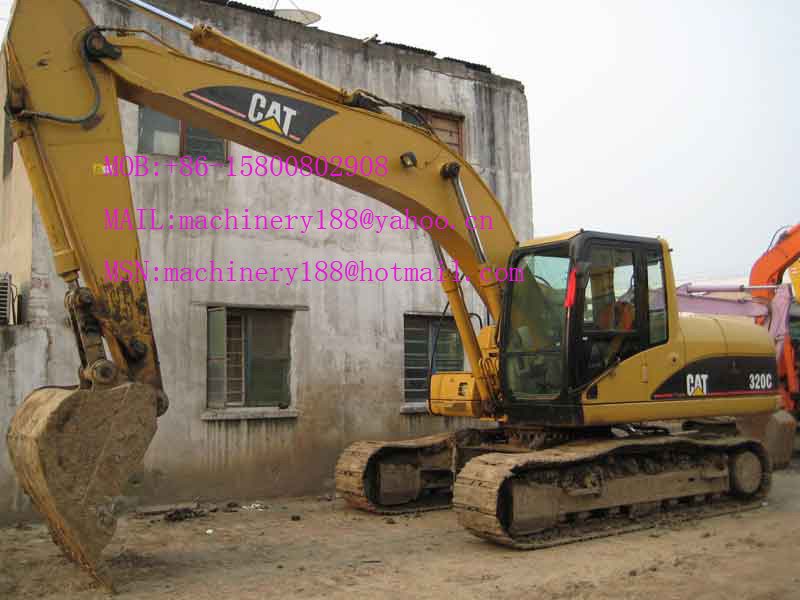 Used Excavator Caterpillar 320C 307B