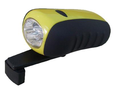 Crank Radio Flashlight
