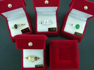 Wholesale QVC 24K Ladies Rings