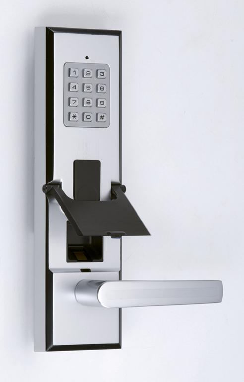 Electronic fingerpring door lock