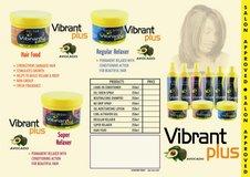 Vibrant Plus Natural Hair Care Product Range