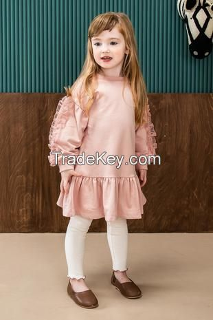 Children girls boutique apparel tops