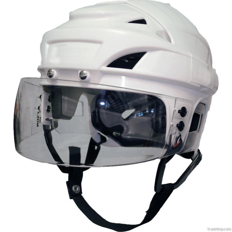 Ice hockey helmets/hockey equipment