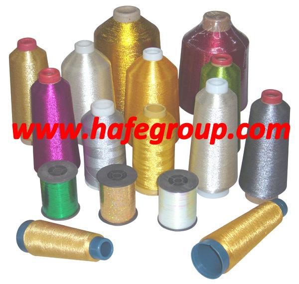 Metallic Yarn, Lurex Yarn, Metallic Thread